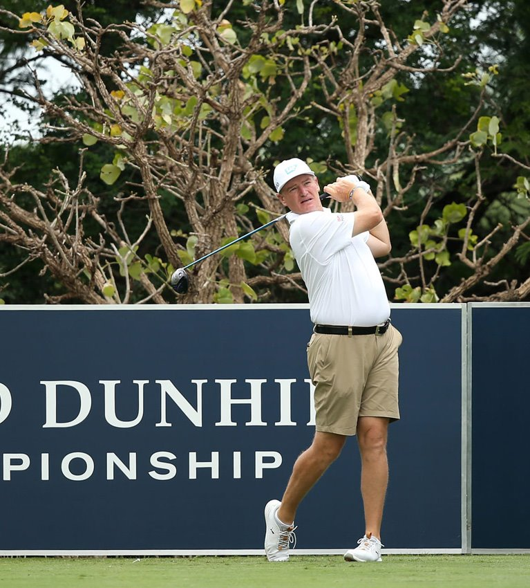 Tours allow pros to wear shorts during Alfred Dunhill Championship